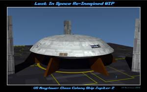 LIS Re-Imagined J-2 WIP 1 by dragonpyper