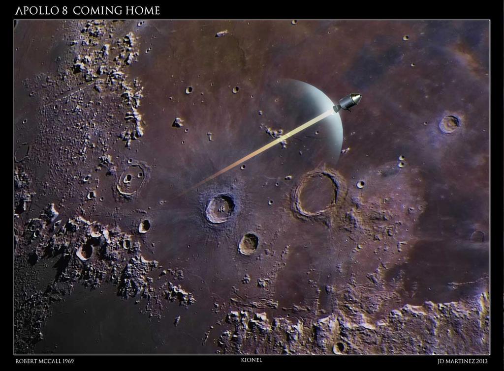 Apollo 8  Coming Home by dragonpyper