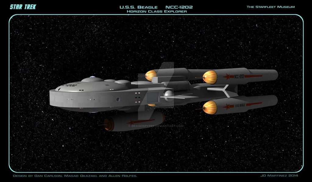 USS Beagle by dragonpyper