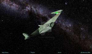 Romulan Bird of Prey circa 2285
