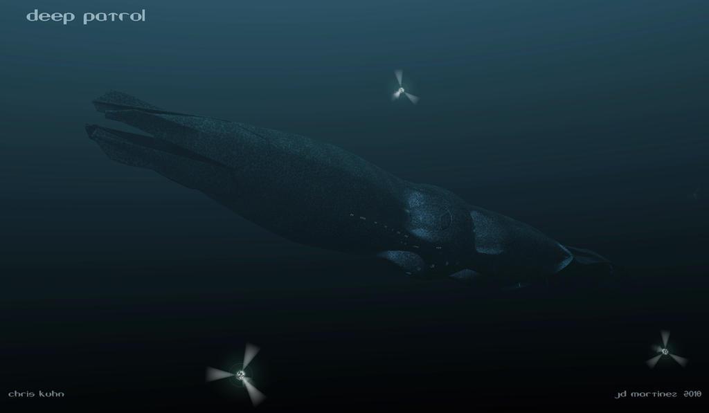 Deep Patrol  by dragonpyper