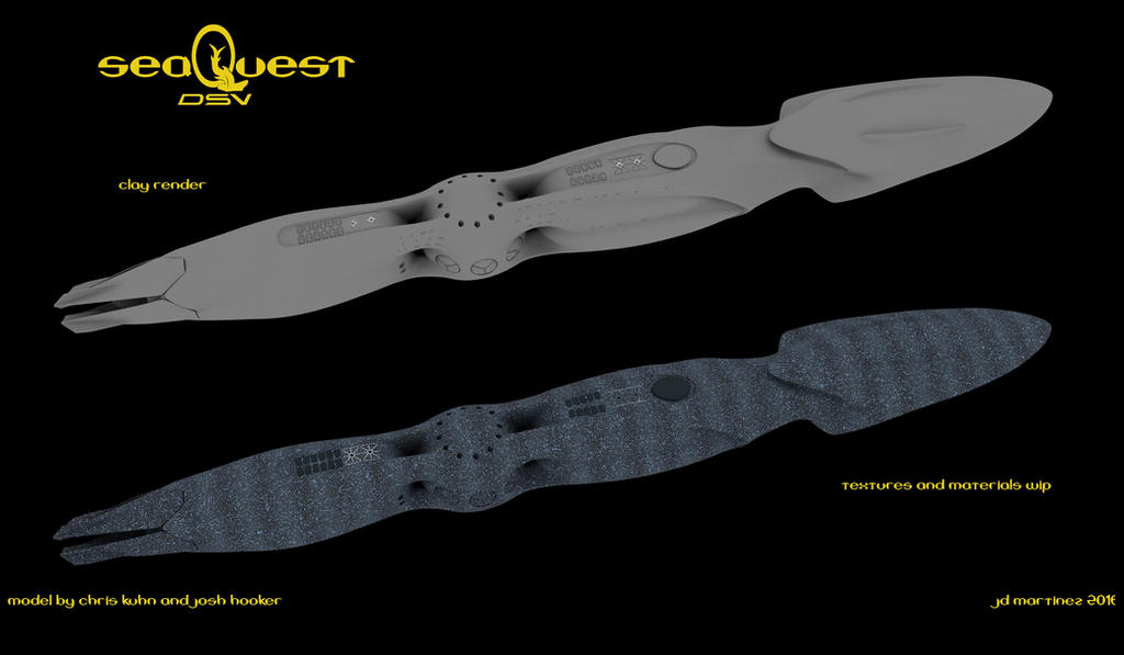 SeaQuest WIP by dragonpyper