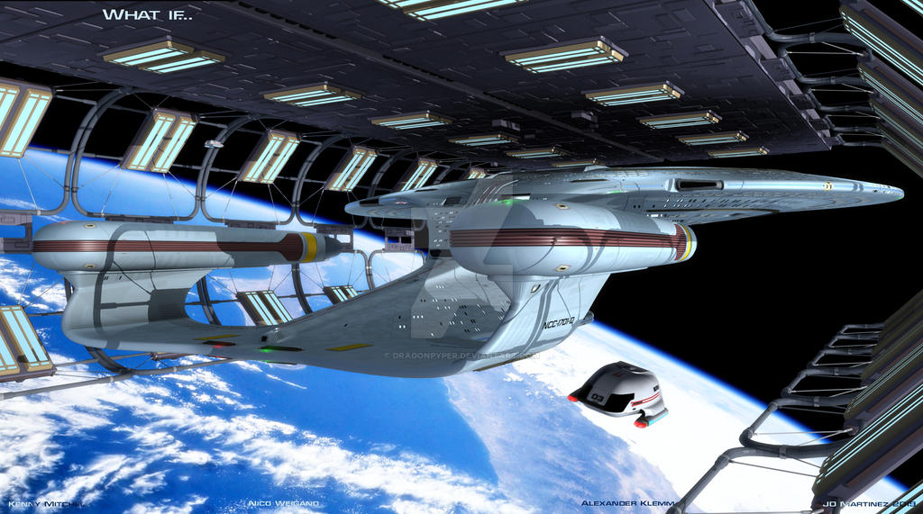 What if the Enterprise had survived Veridian III by dragonpyper