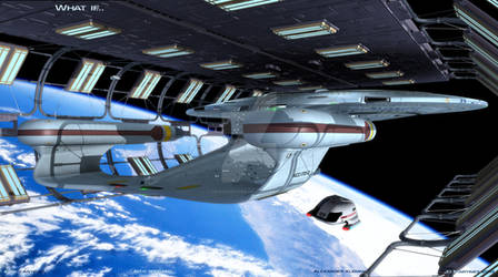 What if the Enterprise had survived Veridian III