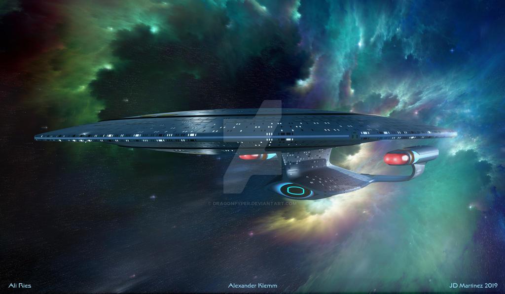 Probert's Enterprise - Pushing Beyond the Rim by dragonpyper