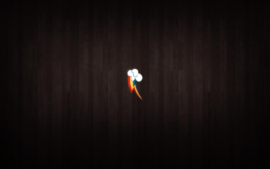 Rainbow Dash Lightning Bolt Wallpaper