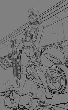 Unnamed Female Soldier