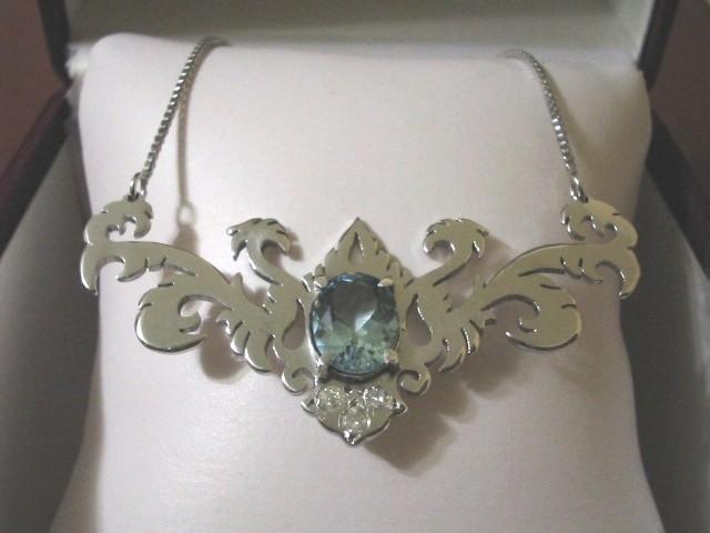 Aqua-Marine Necklace by raulsouza