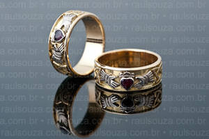 Claddagh Wedding Rings by raulsouza