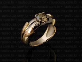 Champagne Diamond Ring by raulsouza