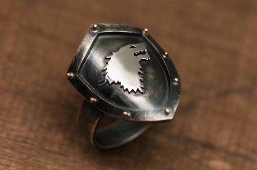 Starks Shield Ring
