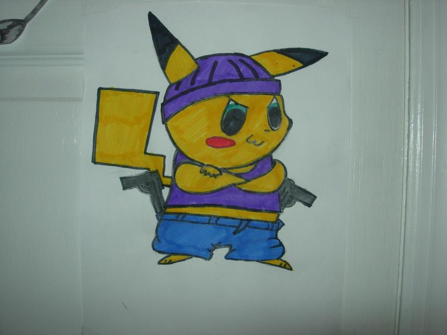 gangster pikachu - photo #35