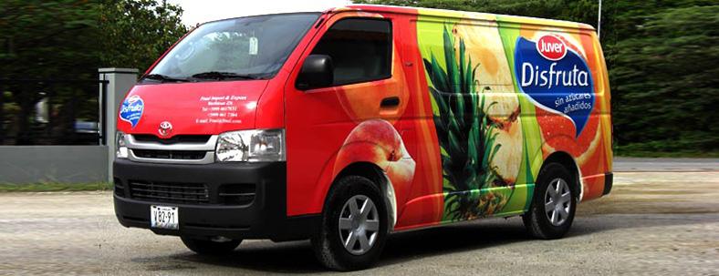 Disfruta delivery van by Elforeal