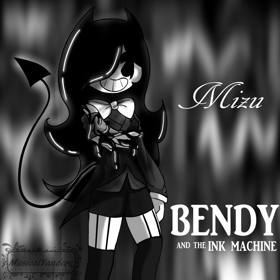bendy and the ink machine bendy anime