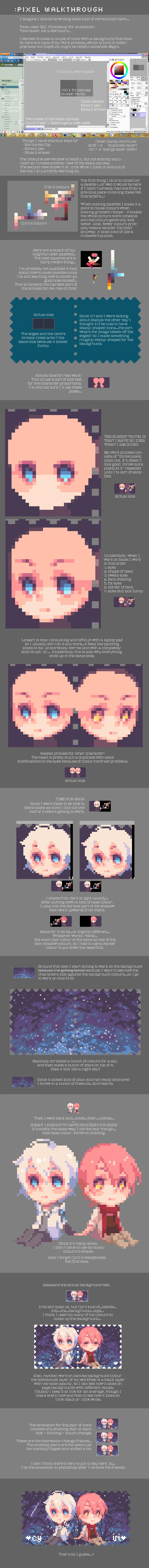 Pixel walkthrough