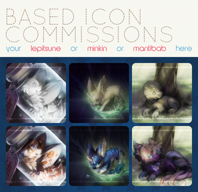 [YCH] Closed species icons [OPEN] by countercanon