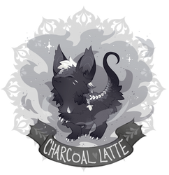 [Aetherlings] advent day 13: charcoal latte