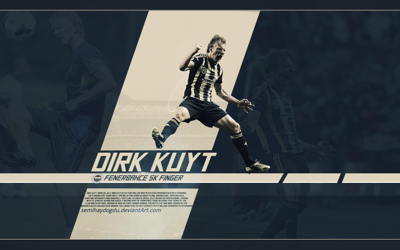 Dirk Kuyt Wallpaper by SemihAydogdu