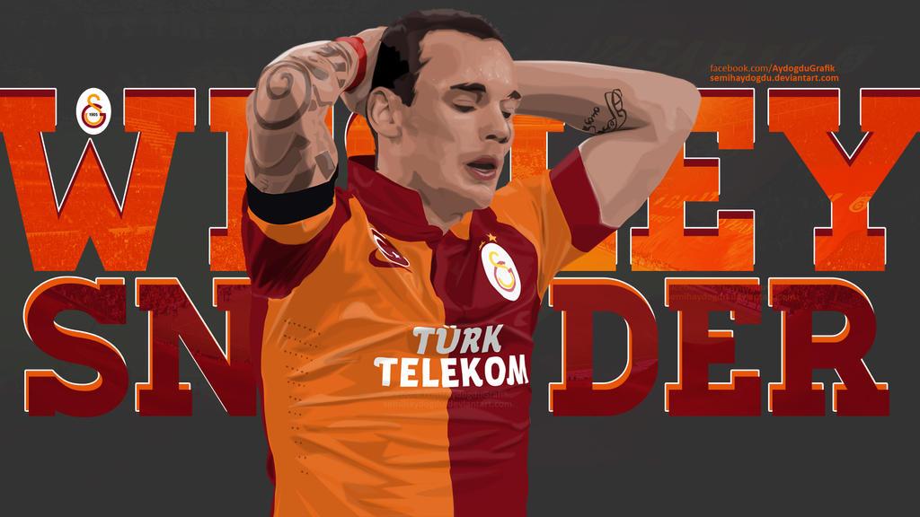 Wesley Sneijder Vector by SemihAydogdu