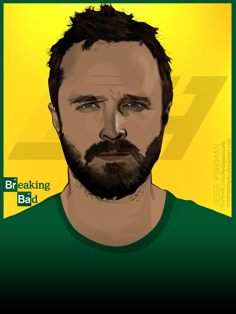 Breaking Bad | Jesse Pinkman Vector by SemihAydogdu