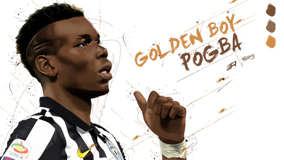 Paul Pogba Vector by SemihAydogdu
