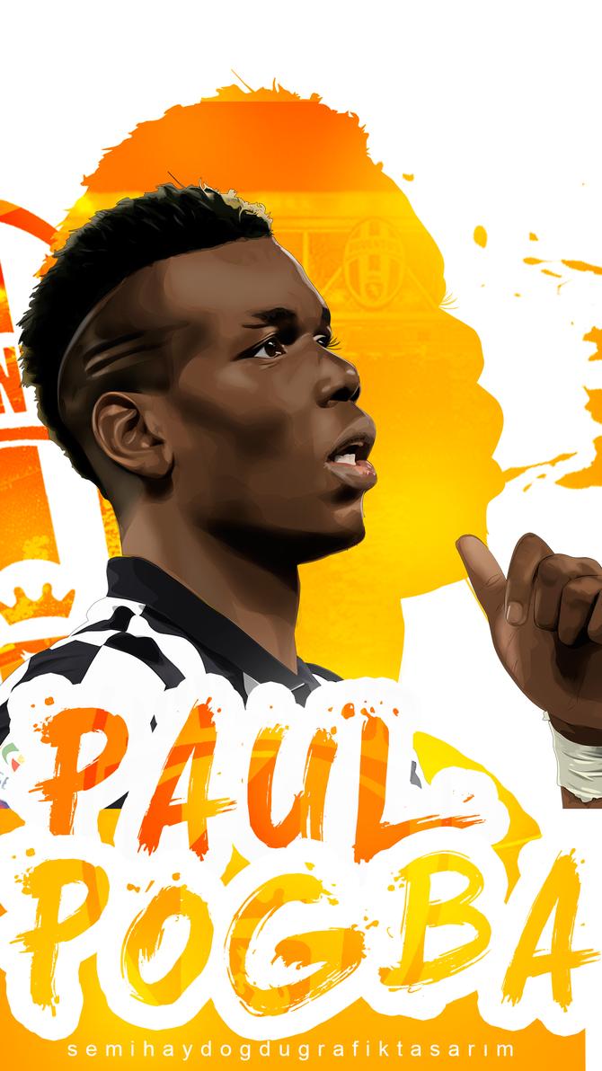 Paul Pogba Phone size by SemihAydogdu