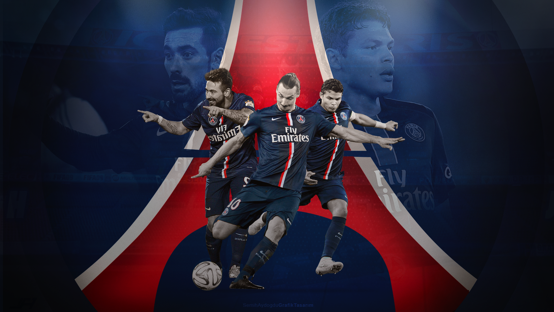 Paris Saint Germain Wallpaper By Semihaydogdu On Deviantart