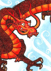 Fire Dragon by LotusElysse