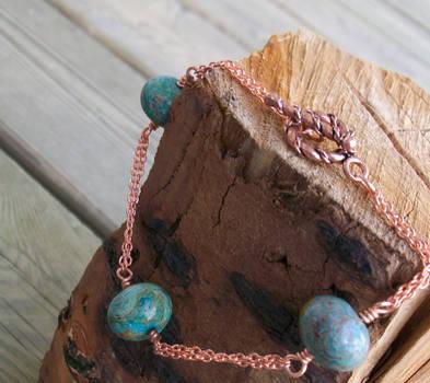 Imperial Turquoise bracelet by LotusElysse