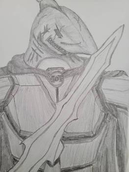 mako blackfin with sword