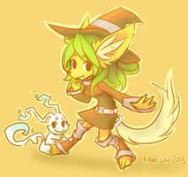 Witch by Kameloh