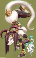Dragon Bard by Kameloh