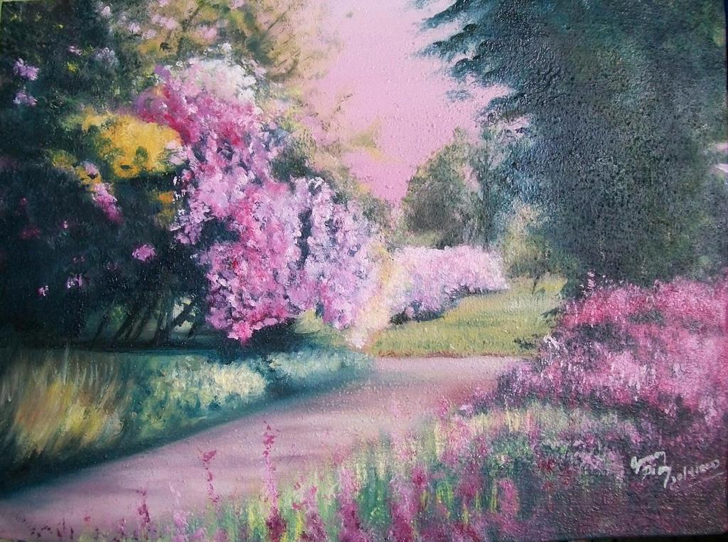 El jardin de mi cabeza oleo by germandiaz318 on deviantart - Oleos de jardines ...