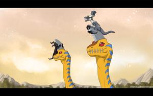 Trough Ancient dino region by Shoyu-Rai