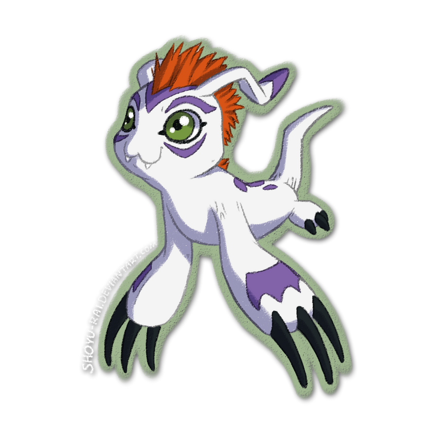 Gomamon by Shoyu-Rai