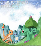 Digimonified - The starters