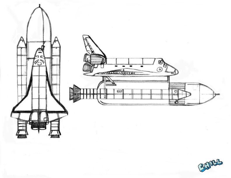 Nasa Rocket Sketch | www.imgkid.com - The Image Kid Has It!