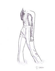 Fashion sketch 2 by PCHILL