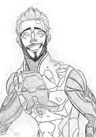 :DE: smile you git by DemonHunterJoan