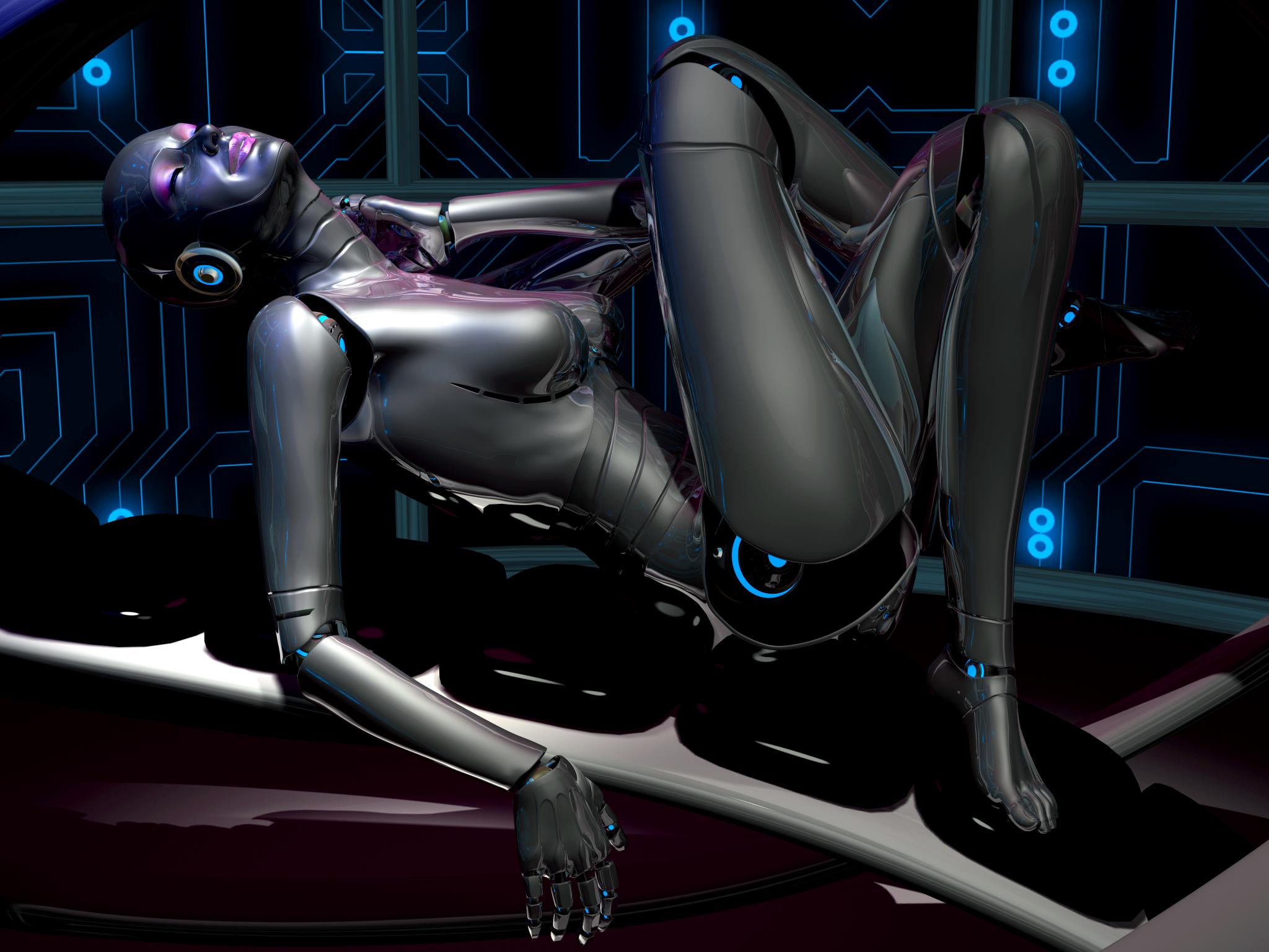 Gynoid-Nicole 4 by TweezeTyne on DeviantArt
