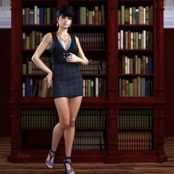 Librarian III by TweezeTyne
