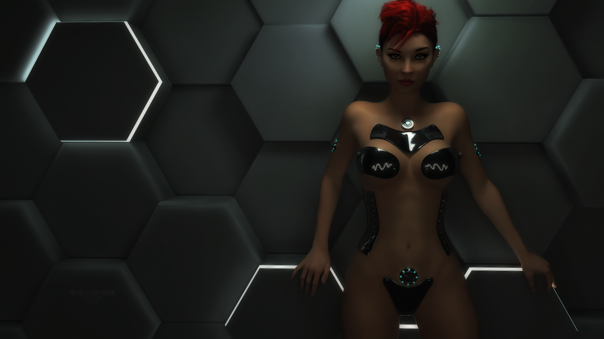 Gynoid 0x4A by TweezeTyne