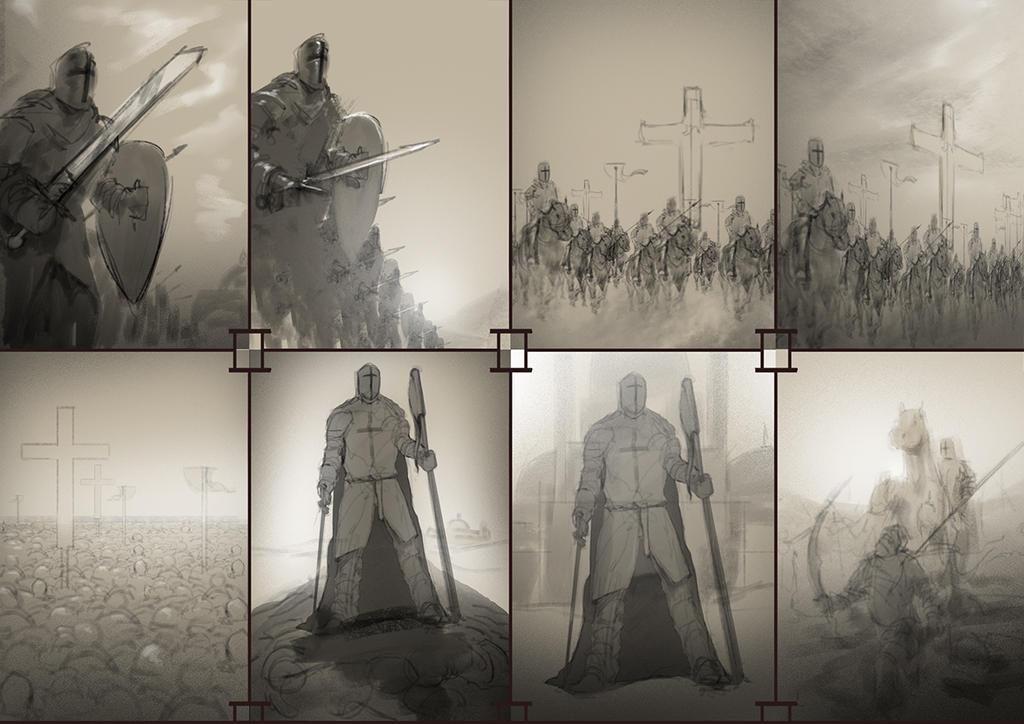 Crusades_Thumbnails #01 by Othrandir