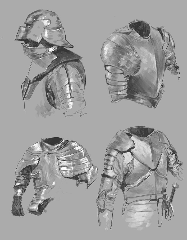 Armor Studies by Othrandir