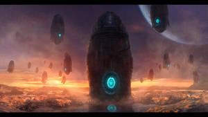 The Landing by Othrandir