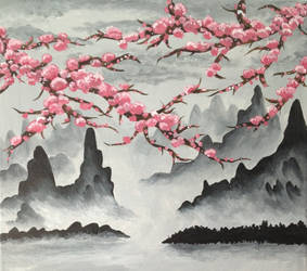 Blossoms by Darkenokitty