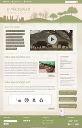 environment web layout