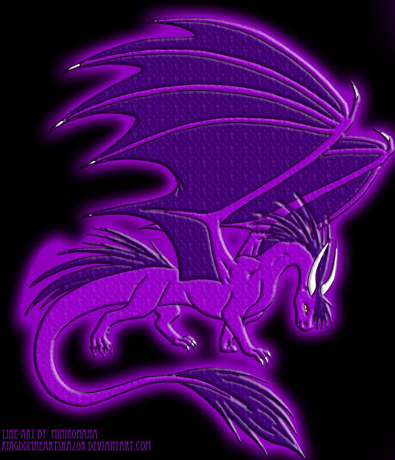 Purple Dragon by AzuraJae on DeviantArt | 800 x 931 png 1907kB