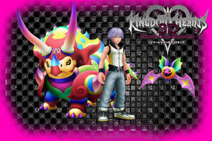 Kingdom Hearts 3D Wallpaper: Riku's Dream by AzuraJae