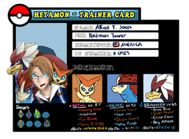 Hetamon: Trainer Card - America by AzuraJae